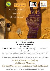 """BOLOGNA, RASSEGNA POETICA """"VOLTI DI DONNA"""" @ Bologna"""