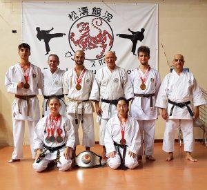 CREMONA, gli atleti dello Shotokan Ryu Cavasport SUL PODIO della WUKF World Cup @ Cremona