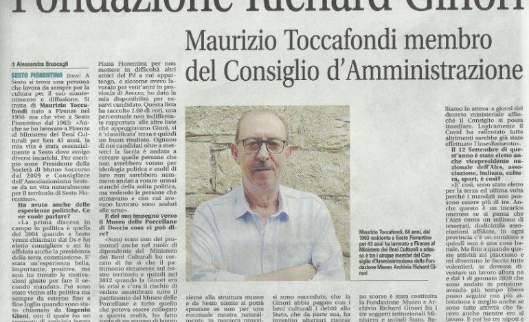 CULTURA, IL VICE PRESIDENTE AiCS NEL CDA DELLA FONDAZIONE RICHARD GINORI