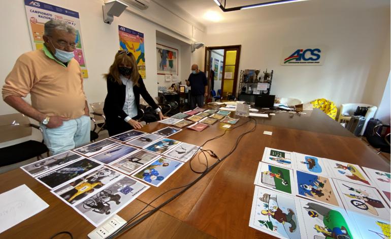 """SPORT E CULTURA per superare barriere e isolamento: gli studenti del """"Soleri Bertoni"""" di Saluzzo disegnano il calendario AiCS 2021"""