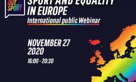 SPORT E UGUAGLIANZA IN EUROPA, WEBINAR INTERNAZIONALE AiCS