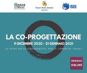 VENETO - CO-PROGETTAZIONE, WEBINAR SULLA SFIDA DELLA SUSSIDARIETA' PER LE COMUNITA' LOCALI @ Veneto