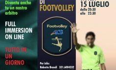 FOOTVOLLEY, corso DI FORMAZIONE per ARBITRI