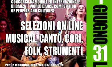 DANZE INTERNAZIONALI, SELEZIONE ON LINE PER LA WORLD DANCE COMPETITION