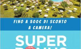 SUPER BONUS FUTURA VACANZE, FINO A 500€ DI SCONTO A CAMERA A SETTIMANA