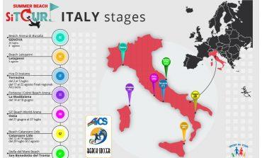 BEACH SOCCER, AL VIA 5 ACADEMY AiCS SULLE SPIAGGE ITALIANE