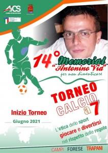 """TRAPANI, TORNEO DI CALCIO MEMORIAL """"ANTONINO VIA"""" @ Trapani"""