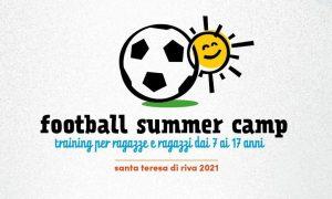 """MESSINA, AL VIA IL """"FOOTBALL SUMMER CAMP"""" A SANTA TERESA DI RIVA @ Messina"""