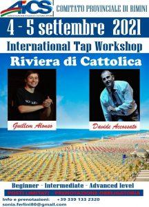 CATTOLICA, WORKSHOP INTERNAZIONALE DI TAP DANCE CON ASD TILT RIMINI @ Cattolica