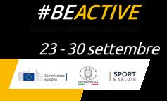 #BEACTIVE, AL VIA LA SETTIMANA EUROPEA DELLO SPORT 2021