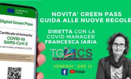 GREEN PASS, NUOVE REGOLE IN ARRIVO: DIRETTA WEB CON LA COVID MANAGER