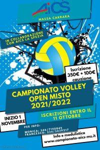 MASSA CARRARA, CAMPIONATO VOLLEY MISTO @ Massa Carrara
