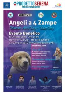 VENEZIA, CON L'APS PROGETTO SERENA ARRIVA IL BATTEN-DOG PER PIETRO @ Venezia