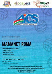 ROMA, TOGETHER: PARTITA DI MAMANET PER L'INCLUSIONE @ Roma